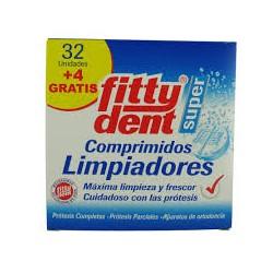FITTYDENT LIMPIADOR 32 COMPRIMIDOS +4 GRATIS