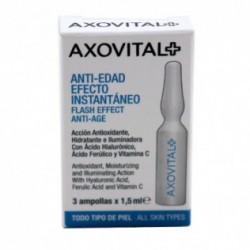 AXOVITAL ANTI-EDAD EFECTO INSTANTÁNEO 3 AMPOLLAS