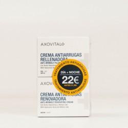 AXOVITAL CREMA DIA 50ML+ NOCHE 50ML ANTIARRUGAS