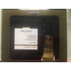GALENIC PACK CONFORT SUPREME EMULSION LIGERA PIELES MIXTAS + REGALO ACEITE SECO PERFUMADO 50 ML