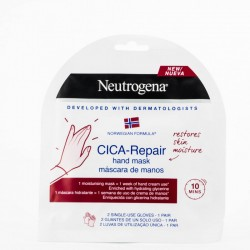 NEUTROGENA MÁSCARA MANOS CICA-REPAIR 1 PAR 1 USO