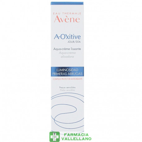 AVENE A-OXITIVE DIA AQUA CREMA ALISADORA 30 ML