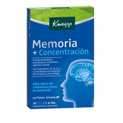 KNEIPP MEMORIA +CONCENTRACION 30 CÁPSULAS