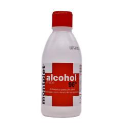 ALCOHOL 96º MONTPLET FRASCO 250 ML