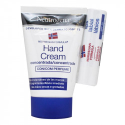 NEUTROGENA PACK CREMA DE MANOS CONCENTRADA 5O ML + STICK LABIAL++ LOCIÓN CORPORAL 15ML