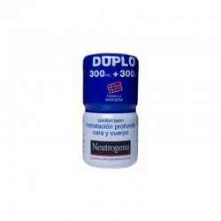NEUTROGENA COMFORT BALM HIDRATACION PROFUNDA CARA Y CUERPO . DUPLO 300 ML+300 ML