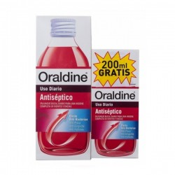 ORALDINE ANTISEPTICO 400 ML + 200ML REGALO
