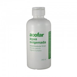 ACOFAR AGUA OXIGENADA 10 VOL .250 ML