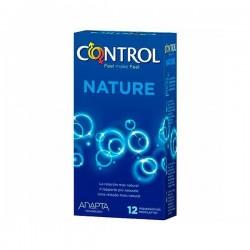 PRESERVATIVOS CONTROL ADAPTA NATURAL 12 U