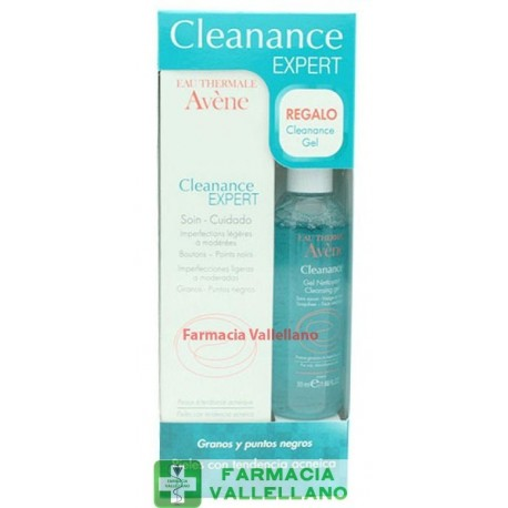 AVENE PACK CLEANANCE EXPERT 40ML+GEL 50ML
